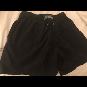 Vilebrequin Men's Black Swim Trunks
